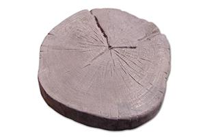 Garden Stepping Stone Cross Cut Log - Construction Materials